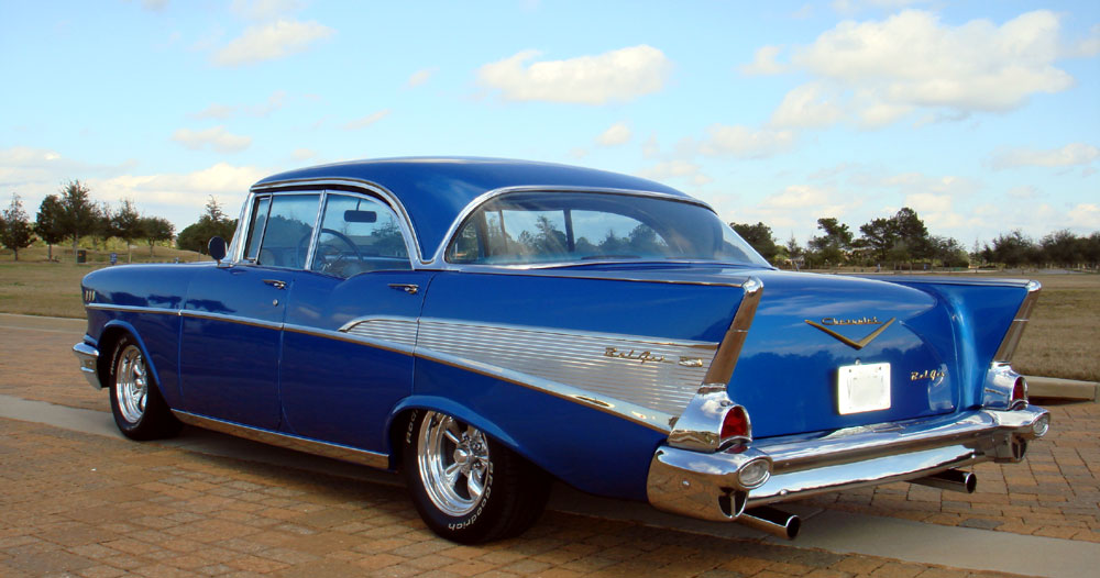 57 Chevy Belair 4 Door