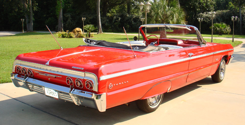 1964 Chevrolet Impala Ss 327 Convertible Re Creation