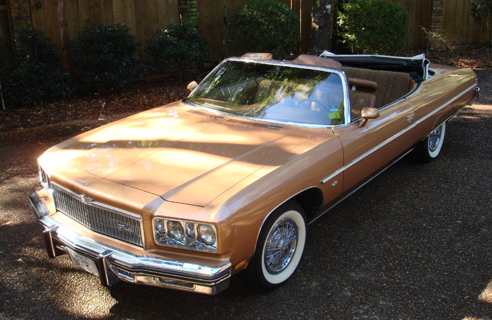 1975 Chevrolet Caprice Classic Convertible 350 2bbl V8 One