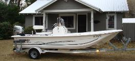 2012 Carolina Skiff 18JVX Center Console