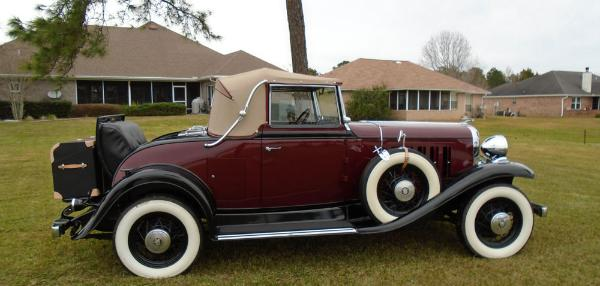 1932 Oldsmobile F32 Convertible