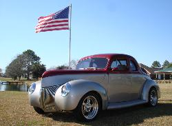 1940 Ford Split Window Coupe