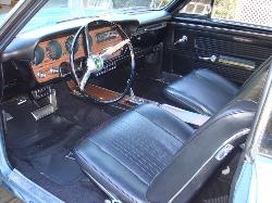 1967 Pontiac GTO Beautiful Interior!