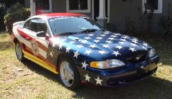 Mustangs Across America 50th Anniversary Pace Car
