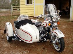 1997 Harley-Davidson FLSTS Heritage Springer with Liberty Sidecar