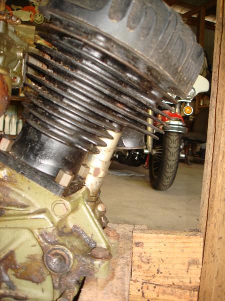 Harley Davidson WLA Crate Motor